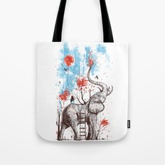 A Happy Place Tote Bag