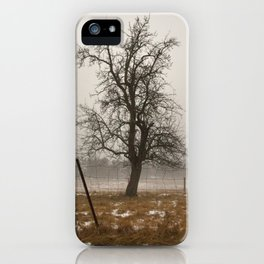 Tree Stands Tall iPhone Case