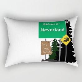 Neverland signs Rectangular Pillow