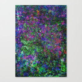 Seek In The Abyss Canvas Print