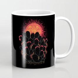 Cactus Sunset Coffee Mug