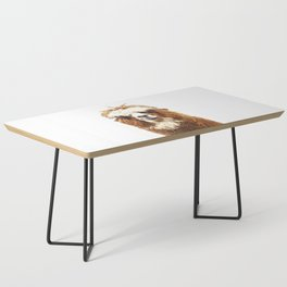 Alpaca Portrait Coffee Table