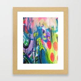 Free Expression Framed Art Print