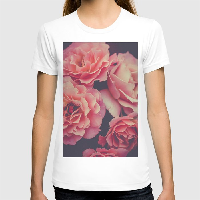 Roses in the night garden T-shirt