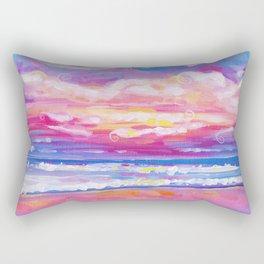 mornings in rodanthe Rectangular Pillow