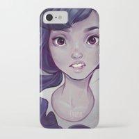 cyarin iPhone & iPod Cases featuring Mono by Cyarin