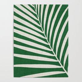 Minimalist Palm Leaf Poster