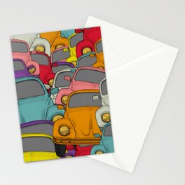 classic beetle Stationery Cards