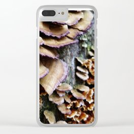 Bumps on a Log Clear iPhone Case