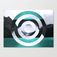 lake Canvas Prints featuring Lake Louise by Fimbis