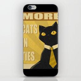 Cats in Ties - PSA iPhone Skin