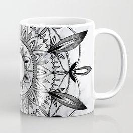 Mandala On Marble Coffee Mug