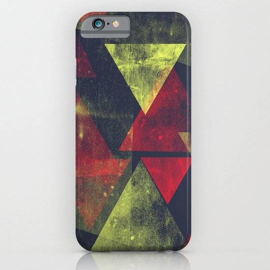 weathered triangles iPhone & iPod Case