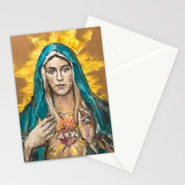 NEW EDITION: Cor Maria Sacratissimum Stationery Cards