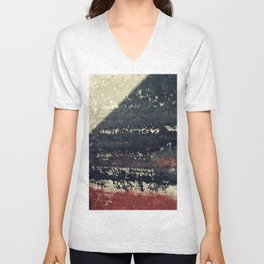 The red wall Unisex V-Neck