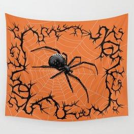 Briar Web- Halloween Wall Tapestry