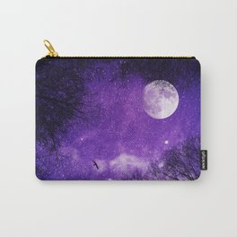 Nightscape in Ultra Violet Carry-All Pouch