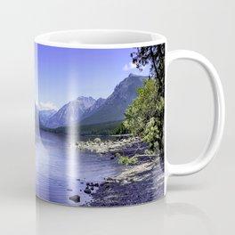 McDonald Lake In Glacier National Park Coffee Mug