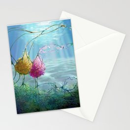 Ocean Duo Stationery Cards
