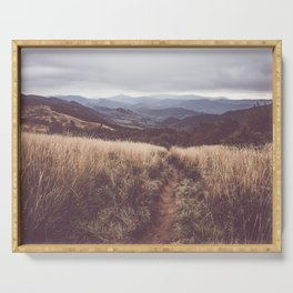 Bieszczady Mountains - Landscape and Nature Photography Serving Tray