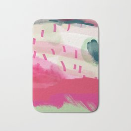 spring dream landscape Bath Mat