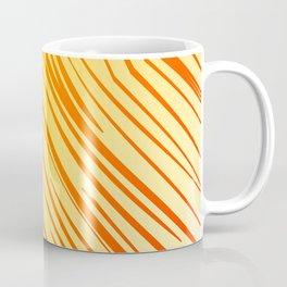 wild gold design lines elements Coffee Mug