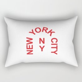New York Arch Rectangular Pillow