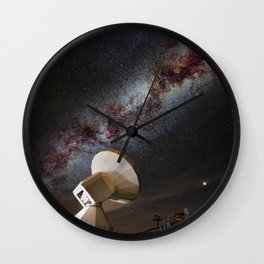 Contact! Search for ExtraTerrestrial Intelligence in the Stars! Wall Clock