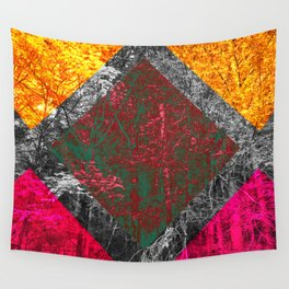 Diamond Forest Wall Tapestry