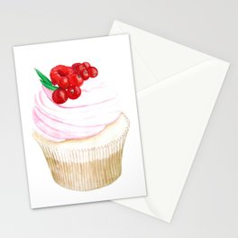 Classic Cupcake Stationery Cards