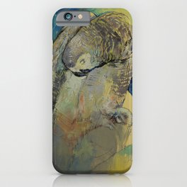 Grey Parrot iPhone Case