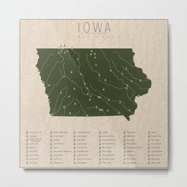 Iowa Parks Metal Print
