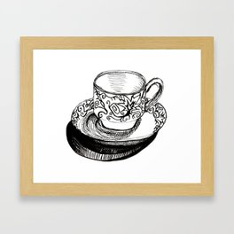 Teacup 2 Framed Art Print