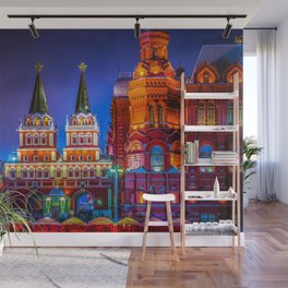 Iberian Or Resurrection Gate To Red Square Wall Mural