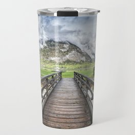 Hallstatt lake Travel Mug