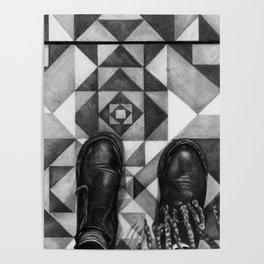 Art Beneath Our Feet - Berlin Poster
