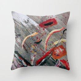 100 Prozent Kunst 4 Throw Pillow
