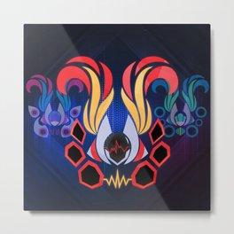 DJ Sona - Concussive Metal Print