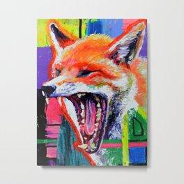 Yawn Colors Metal Print