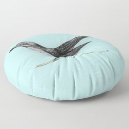 Willy Wagtail Floor Pillow