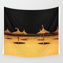 Shades in the Night Wall Tapestry
