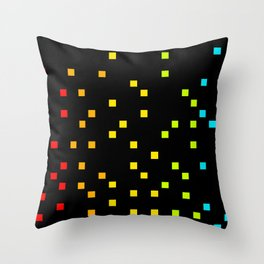 Digital Sounds Throw Pillow