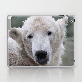 Poly Animals - Polar Bear Laptop & iPad Skin