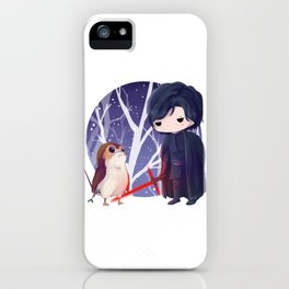 porgs in training: kylo iPhone Case
