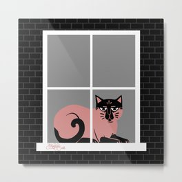 Parzival, House of Cats Metal Print