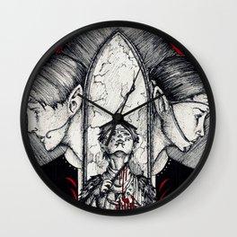 Blood mage Wall Clock