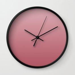 Ruddy rose. Wall Clock