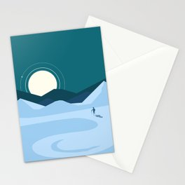 Artic exploration Stationery Cards