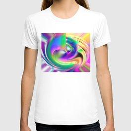 The Dance A Modern Digital Art By Annie Zeno  T-shirt