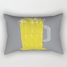 More Beer Rectangular Pillow